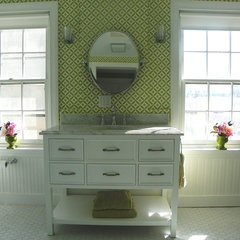 traditional bathroom by Amy Cuker, MBA, LEED AP