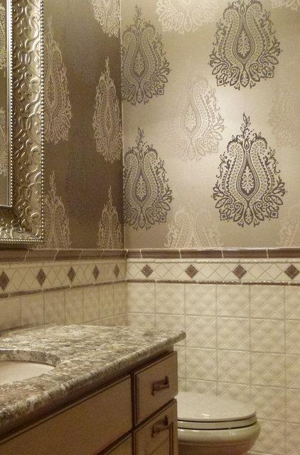 Traditional Bathroom by Karlene Hunter Baum, Allied ASID