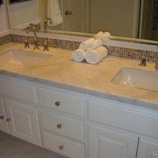 Traditional Bathroom by Kelly Darling Spadoni - Darling Interiors