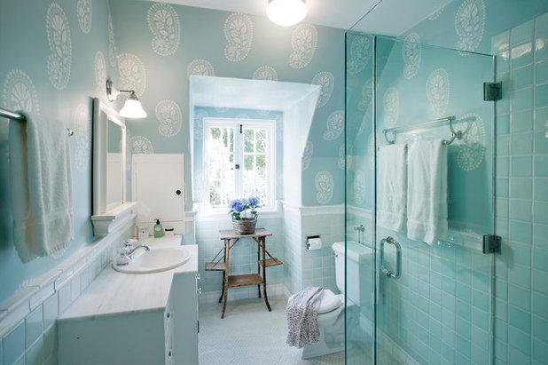 Traditional Bathroom by Projects General Construction, Inc