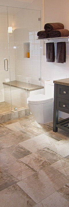 Inspirational GIRL uS BATHROOM Shower with Bench More Info