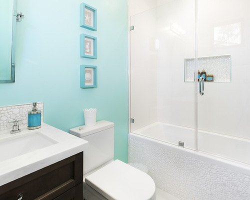 white and blue bathroom white and blue bathroom entrancing top - Bathroom Ideas Blue And White