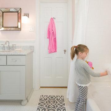 Girls Bathroom Renovation St. Louis, MO