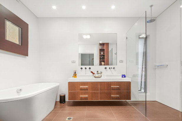 Contemporary Bathroom by Steve Lock Photography