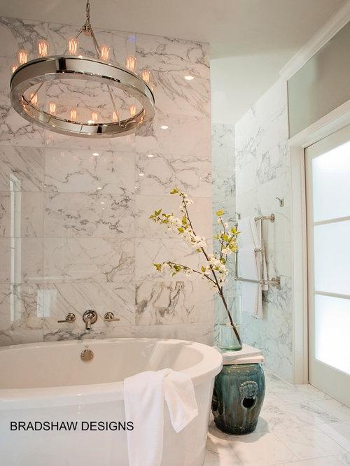 Calacatta Marble White Bath By Bradshaw Designs