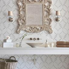 Contemporary Bathroom by Da Vinci Marble