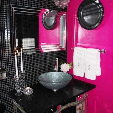 Glamorous Guest Bathroom