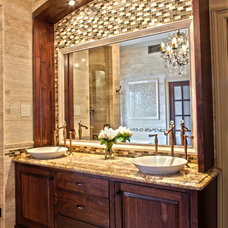 Traditional Bathroom by LeTricia Wilbanks Design