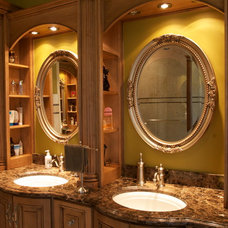 Traditional Bathroom by Crooked Oak