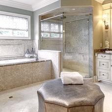 Traditional Bathroom by Maria DeGange