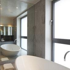 Modern Bathroom by Adrienne Chinn Design