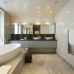 modern bathroom by Adrienne Chinn