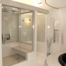 Contemporary Bathroom by CHIC Redesign