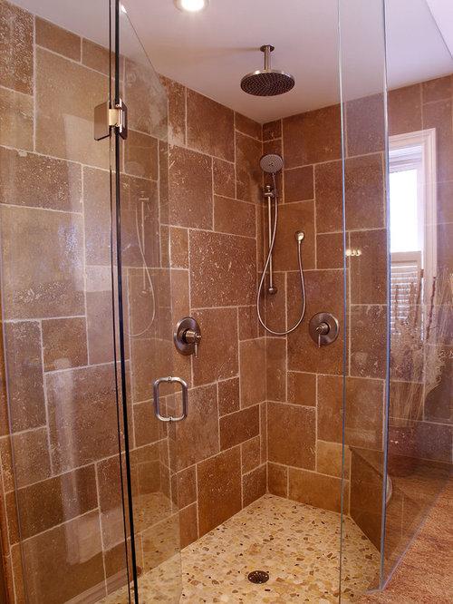 Versailles tile pattern houzz for Traditional bathroom tile designs
