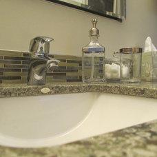 Traditional Bathroom by Katherine Joy Interiors
