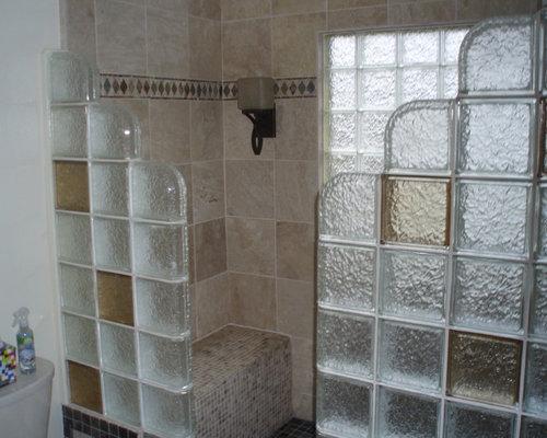 Glass Block Shower Enclosure Home Design Ideas Pictures