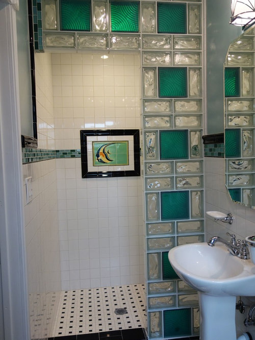 Best Colored Glass Blocks Design Ideas Remodel Pictures Houzz
