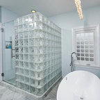 Low Profile Modern Stone Resin Wall Mounted Sink - WT-04 - Modern - Bathroom - San Francisco ...