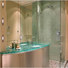 Modern Bathroom by Anchor-Ventana Glass