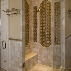 Traditional Bathroom by Palatial Stone and Tile, LLC