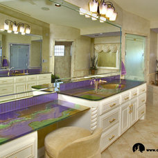 Bathroom by Coyote Glass Design