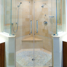 Traditional Bathroom by GlassWorks of Summit
