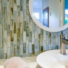 Contemporary Bathroom by Design Tile Inc