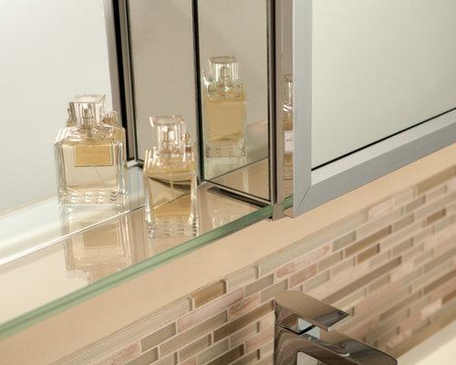 GlassCrafters' Mirrored Medicine Cabinets