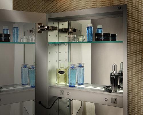Charmant Save. GlassCraftersu0027 Frameless Beveled Medicine Cabinet Electric Option