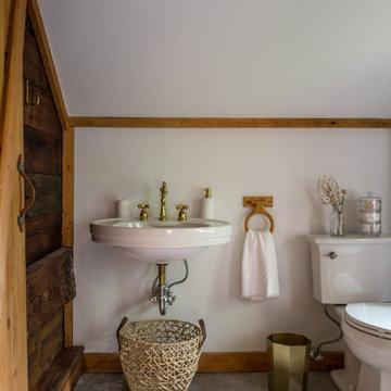 Glazed Thin Brick Bathroom Floor