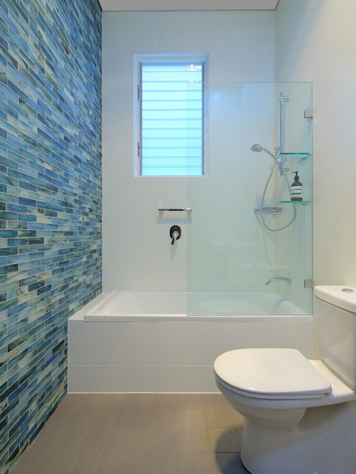 Feature wall tile houzz for Feature wall tile ideas