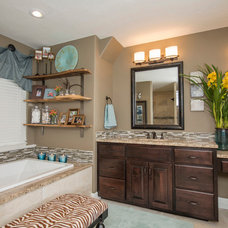 Traditional Bathroom by Nathan Taylor for Obelisk Home