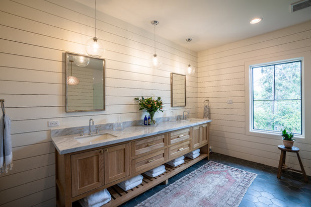 Country Bathroom by Wild Rose Interiors