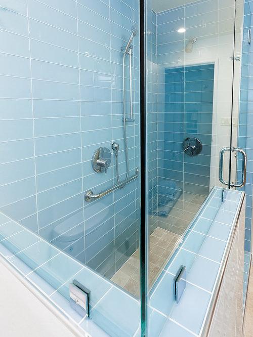 mid century badezimmer mit travertin design ideen beispiele f r die badgestaltung. Black Bedroom Furniture Sets. Home Design Ideas