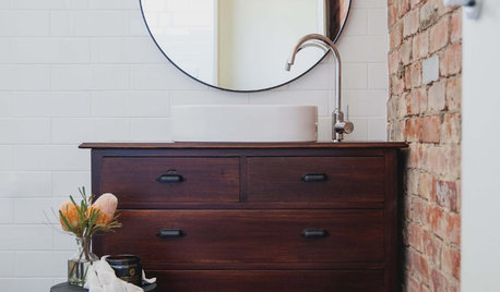10 Furniture Classics You Can Turn Into Bathroom Vanities