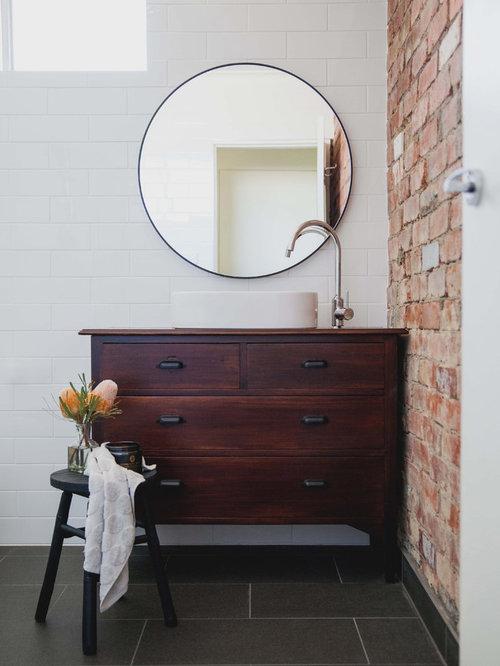 eclectic bathroom design ideas remodels photos. Black Bedroom Furniture Sets. Home Design Ideas