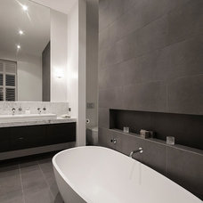 Contemporary Bathroom by West Valentine Design