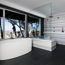 Modern Bathroom by Moroso Construction
