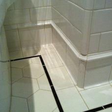 Traditional Bathroom by Silver Hammer Design