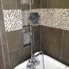 Rustic Bathroom Glendale Bathroom Remodel