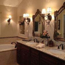 Traditional Bathroom by LLJ Interior Design