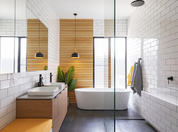 Contemporain Salle de Bain by Hastings Design