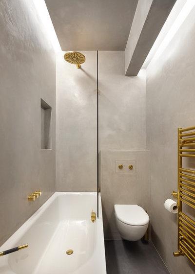 Contemporain Salle de Bain by RISE Design Studio