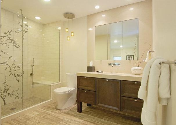 Eclectic Bathroom by DDK Kitchen Design Group