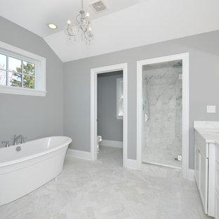 Warm Grey Bathroom Ideas Photos Houzz