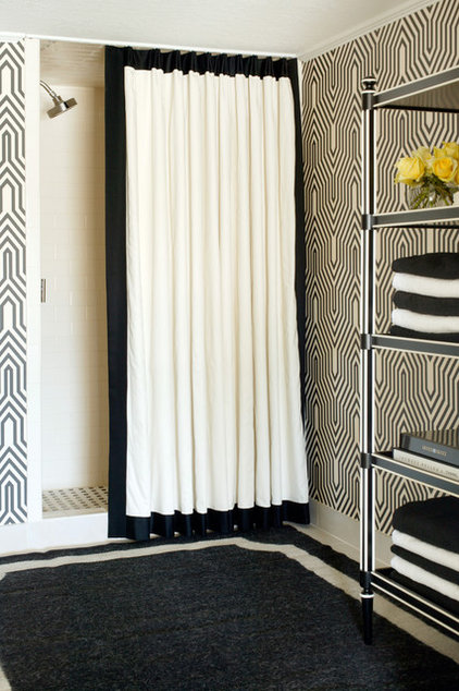 Eclectic Bathroom by Tobi Fairley Interior Design
