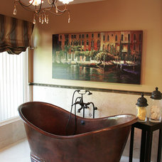 Traditional Bathroom by Kerrie L. Kelly