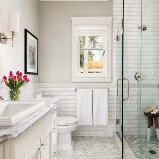 75 Beautiful Subway Tile Bathroom Pictures Ideas April 2021 Houzz
