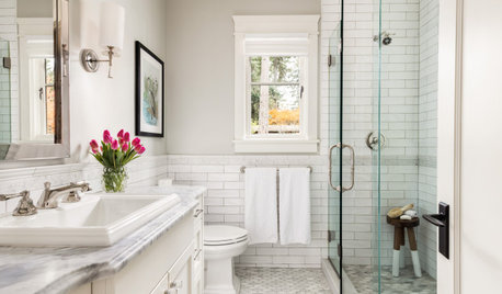 New This Week: 7 Terrific Tile Ideas for Bathrooms