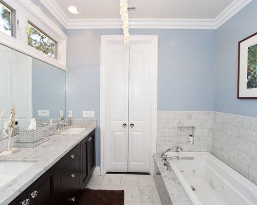 Houzz Double Bathroom Door Design Ideas Remodel Pictures